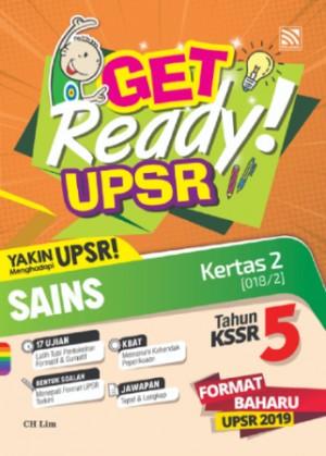 Tahun 5 Get Ready! UPSR Sains (Kertas 2)(Dwibahasa)