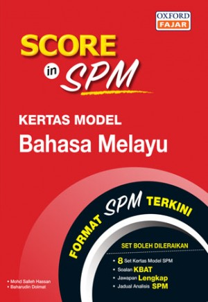 SCORE IN SPM KTS MODEL BM '19
