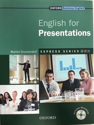 ENGLISH FOR PRESENTATIONS