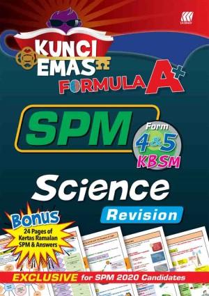 KUNCI EMAS FORMULA A+ SPM SCIENCE(REVISION)