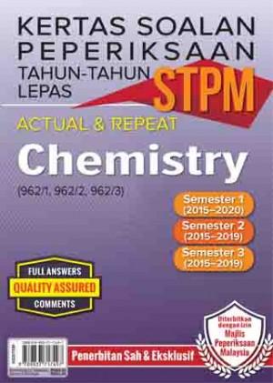 Kertas Soalan Peperiksaan Tahun-Tahun Lepas STPM Chemistry Semester 1-2-3