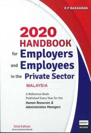 2020 HANDBOOK FOR EMPLOYERS AND EMPLOYEE
