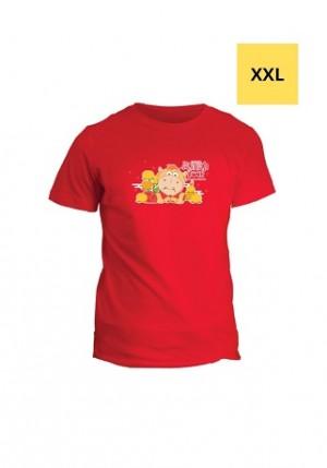 牛来运转满利满力Home - 精美T-恤 (XXL)