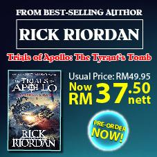 English Bottom 37 - Pre Order Rick Riordan