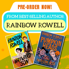 English Bottom 38 - Pre order Rainbow Rowell