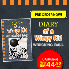 English Bottom 39 - Preorder Wimpy Kid