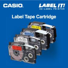 Stationery Bottom 05 -  CASIO LABELLING