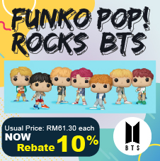 CD Bottom 22 - BTS Funko
