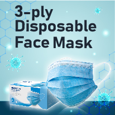 Stationery Bottom 07 - Face mask