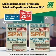 Revision Bottom 07 - Kertas Model Actual Super SPM - POP CLUB
