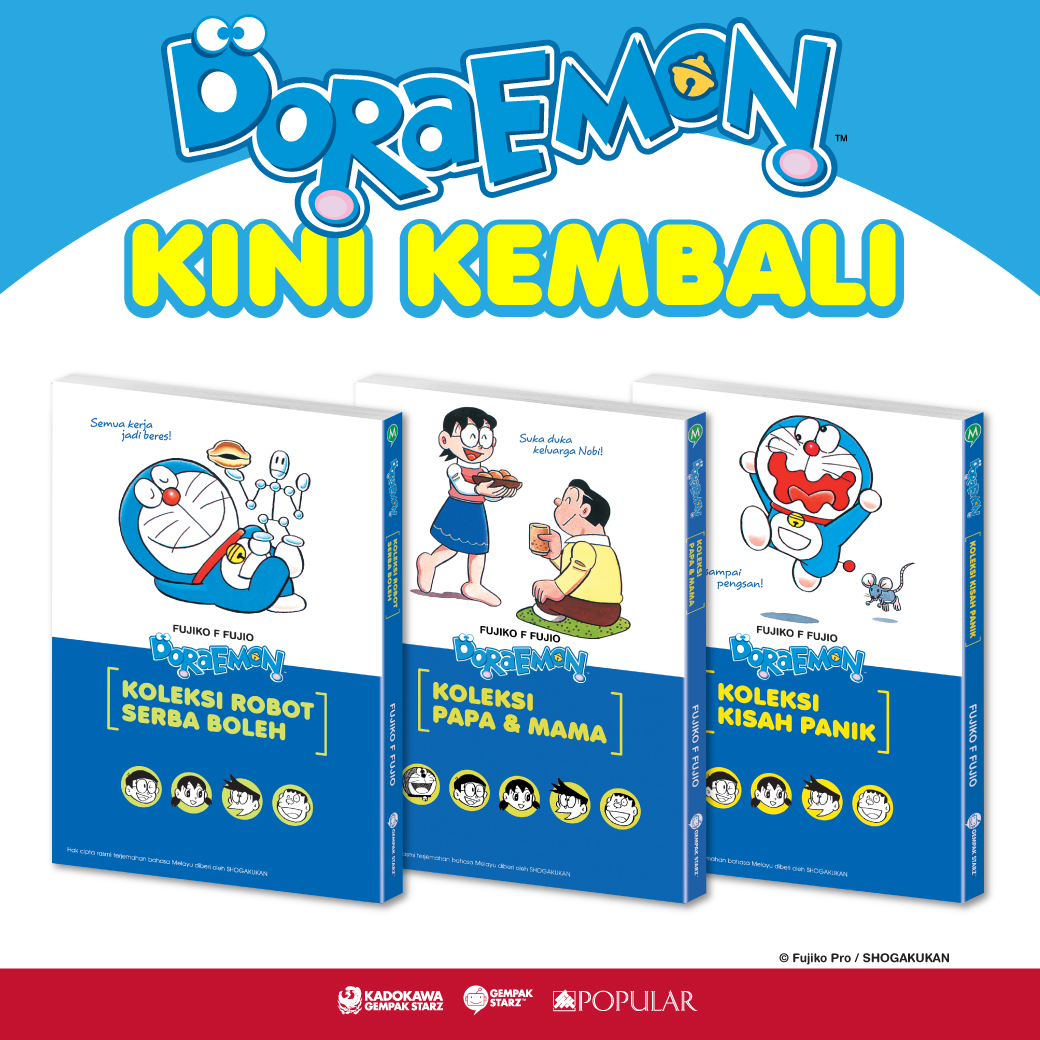 Malay Bottom 16 - Koleksi Doraemon