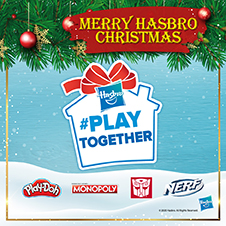 Stationery Bottom 34 - HASBRO - Play Together