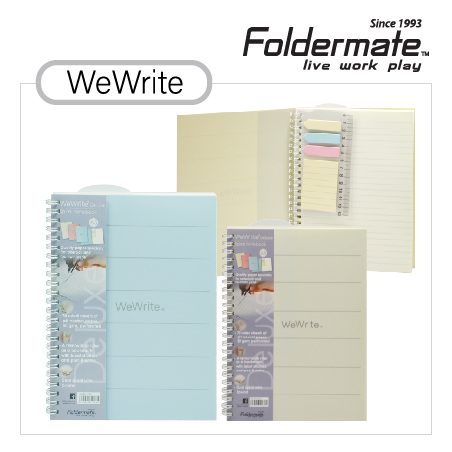 Stationery Bottom 32 - FOLDERMATE  - We Write