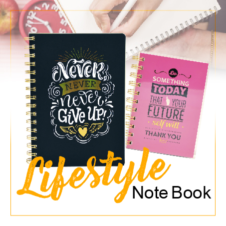 Stationery Bottom 24 - Lifestyle notebook