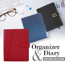 Stationery Bottom 23 - Diary 2021