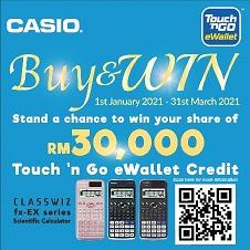 Stationery Bottom 21 - Casio win