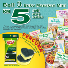 Malay Bottom 14 - Buku Masakan Mini 4