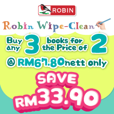English Bottom 21 - Robin Wipe Clean